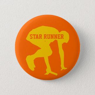 Bóton Redondo 5.08cm Siga o botão customizável do corredor (corredor da