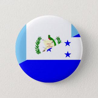 Bóton Redondo 5.08cm símbolo da bandeira de guatemala honduras meio