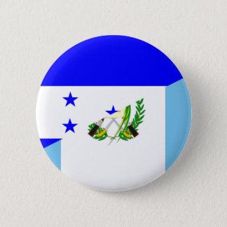 Bóton Redondo 5.08cm símbolo da bandeira do país de honduras guatemala
