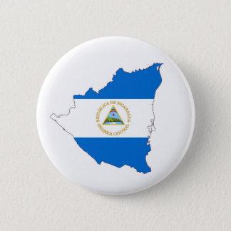 Bóton Redondo 5.08cm símbolo da forma do mapa da bandeira de país de