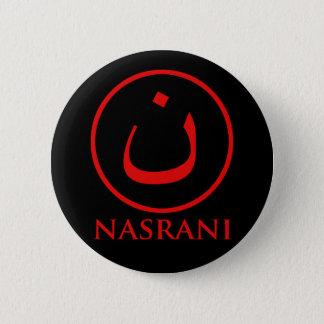Bóton Redondo 5.08cm Símbolo do cristão de Nasrani