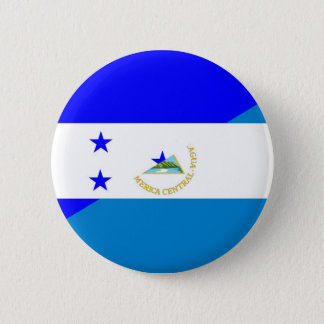 Bóton Redondo 5.08cm símbolo do país da bandeira de honduras Nicarágua