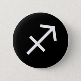 Bóton Redondo 5.08cm Símbolo do Sagitário
