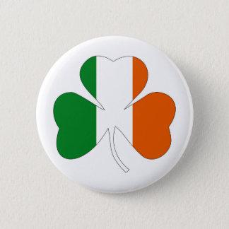 Bóton Redondo 5.08cm símbolo irlandês ireland do trevo da bandeira do
