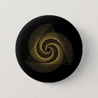 Bóton Redondo 5.08cm Símbolo sagrado da geometria