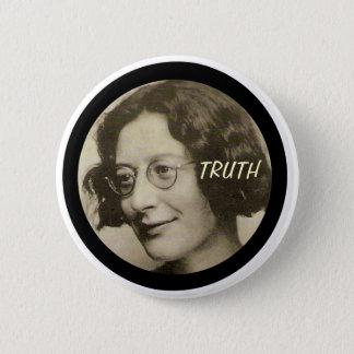 Bóton Redondo 5.08cm Simone Weil