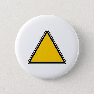 Bóton Redondo 5.08cm Sinal vazio amarelo