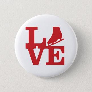 Bóton Redondo 5.08cm Skate do amor