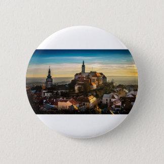 Bóton Redondo 5.08cm Skyline da república checa