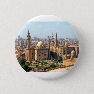 Bóton Redondo 5.08cm Skyline de Cario Egipto