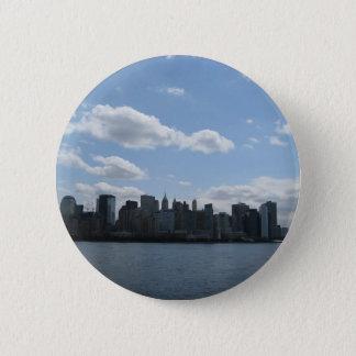 Bóton Redondo 5.08cm Skyline de NYC