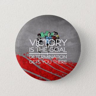 Bóton Redondo 5.08cm Slogan SUPERIOR da vitória da trilha