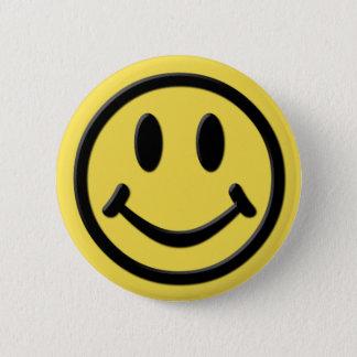 Bóton Redondo 5.08cm Smiley
