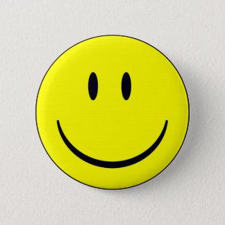Bóton Redondo 5.08cm Smiley face