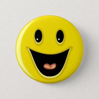Bóton Redondo 5.08cm Smiley face de riso