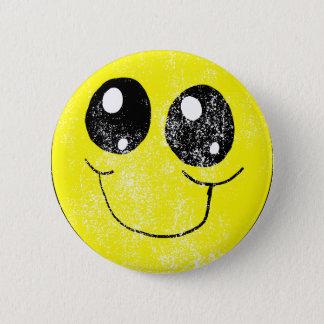 Bóton Redondo 5.08cm Smiley face do vintage