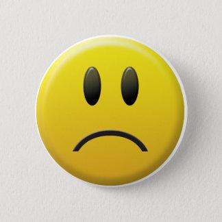 Bóton Redondo 5.08cm Smiley face triste