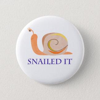 Bóton Redondo 5.08cm Snailed ele