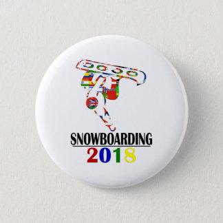 BÓTON REDONDO 5.08CM SNOWBOARDING 2018