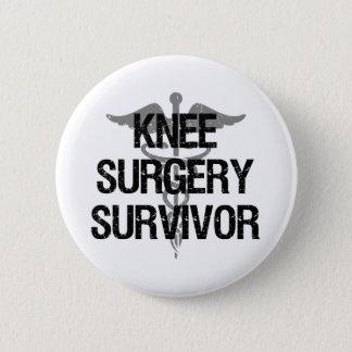 Bóton Redondo 5.08cm Sobrevivente da cirurgia do joelho