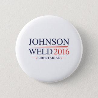 Bóton Redondo 5.08cm Solda 2016 de Johnson