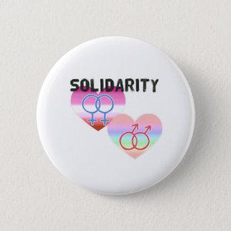 Bóton Redondo 5.08cm Solidariedade alegre lésbica