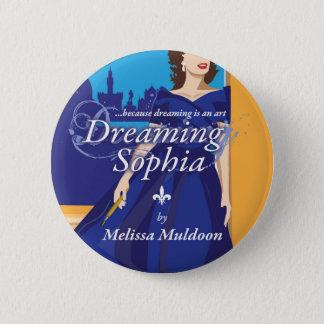 Bóton Redondo 5.08cm Sonhando botões do livro de Sophia