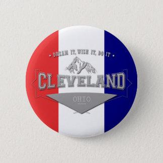 Bóton Redondo 5.08cm Sonho de Cleveland Ohio da tela completa