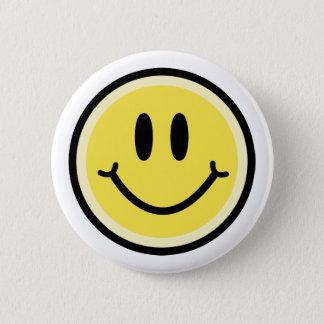 Bóton Redondo 5.08cm Sorriso amarelo