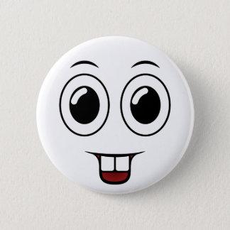 Bóton Redondo 5.08cm Sorriso do dente de fanfarrão