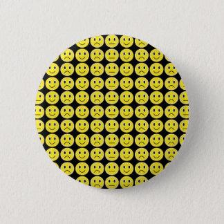 Bóton Redondo 5.08cm Sorrisos do amarelo