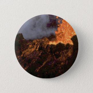 Bóton Redondo 5.08cm Splatter e fluxo da lava