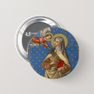Bóton Redondo 5.08cm St Teresa de Avila (SAU 28)