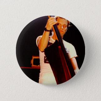 Bóton Redondo 5.08cm Sting que joga o violoncelo