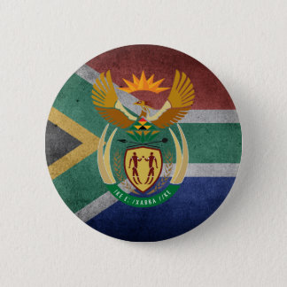 Bóton Redondo 5.08cm Sul - bandeira africana