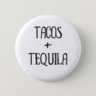 Bóton Redondo 5.08cm Tacos e party girl do Tequila