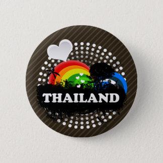 Bóton Redondo 5.08cm Tailândia frutado bonito