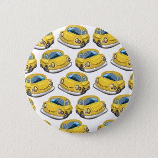 Bóton Redondo 5.08cm Táxi amarelo do táxi