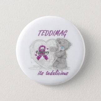 Bóton Redondo 5.08cm teddimag-epilepsia
