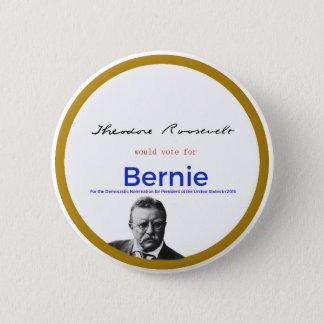 Bóton Redondo 5.08cm Teddy Roosevelt para máquinas de lixar de Bernie