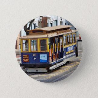 Bóton Redondo 5.08cm Teleféricos em San Francisco