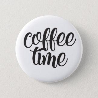 Bóton Redondo 5.08cm Tempo do café