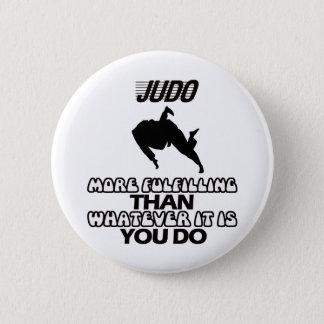 Bóton Redondo 5.08cm Tendendo o DESIGN do judo