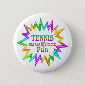 Bóton Redondo 5.08cm Tênis mais divertimento