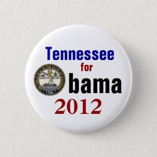 Bóton Redondo 5.08cm Tennessee para Obama 2012
