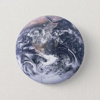 Bóton Redondo 5.08cm Terra do planeta do Dia da Terra do espaço
