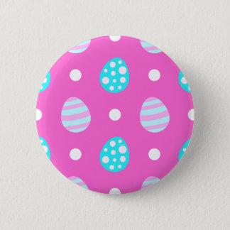 Bóton Redondo 5.08cm Teste padrão colorido cor-de-rosa doce alegre dos