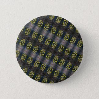 Bóton Redondo 5.08cm Teste padrão das juntas de bronze