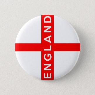 Bóton Redondo 5.08cm texto britânico do nome do símbolo da bandeira de