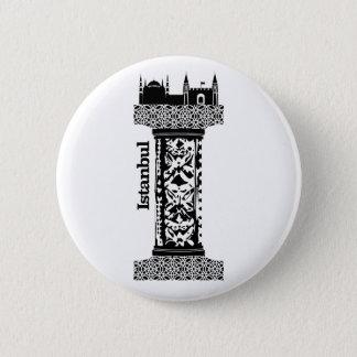 Bóton Redondo 5.08cm Tipografia mim (Istambul: Turquia)